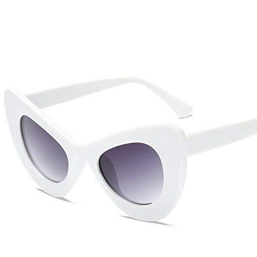Schutz Sonnenbrillen Cat Eye Sonnenbrillen Neue sexy Mode Frauen weibliche Damen Sonnenbrille inspiriert Retro Vintage Sonnenbrille für Frauen Gläser Fahren (Farbe : LAF5141 C5)