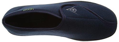 Dunlop Herren Albert Hausschuhe Blau (Marineblau)