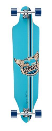 Osprey Pegasus Twin Tip verblasst Skateboard Longboard (Skateboard Verblasst)