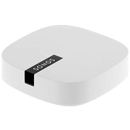 Sonos Boost WLAN Bridge, weiß - WLAN Verstärker für störungsfreie Übertragung im Sonos Home Soundsystem - Mehr Reichweite für die Verbindung der Sonos WLAN Lautsprecher