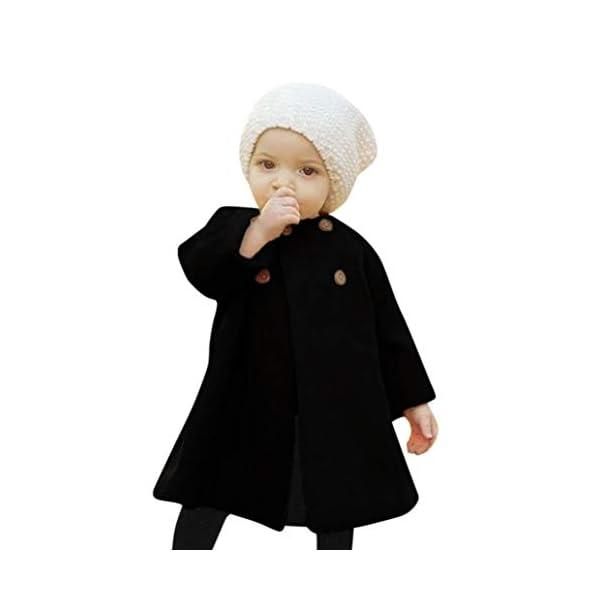 ZARLLE_Bebé Abrigos Bebé,ZARLLE Ropa de bebé Chaqueta para niños Bebés niñas otoño Invierno Tipo de Capa Abrigo Chaqueta… 1