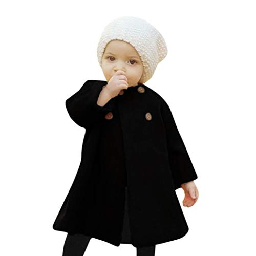 ZARLLE_Bebé Abrigos Bebé,ZARLLE Ropa de bebé Chaqueta para niños Bebés niñas otoño Invierno Tipo...