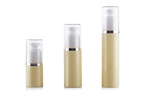 2Stück 30ml/LSF15/0,08nachfüllbar Pet Kunststoff Lotion Creme Pumpe Flasche mit Squeeze Unzen/(/in Bierstiefel/2.6oz & # xff09; Form Make Up Kosmetik Behandlung Container Jar Reisegröße Flaschen für Beauty Gele Seren und Lotionen (20 Unzen Squeeze-flasche)