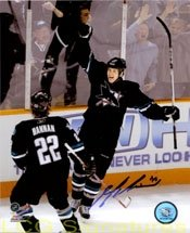 Signed Bell, Mark (San Jose Sharks) 8x10 Photo autographed