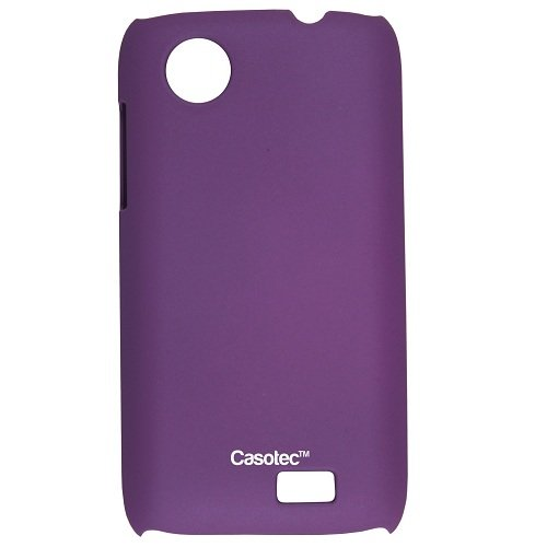 Casotec Ultra Slim Hard Shell Back Case Cover for Lenovo A369i - Purple  available at amazon for Rs.175