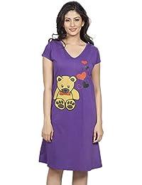 Clifton Women's Long Top Nightwear - Teddy