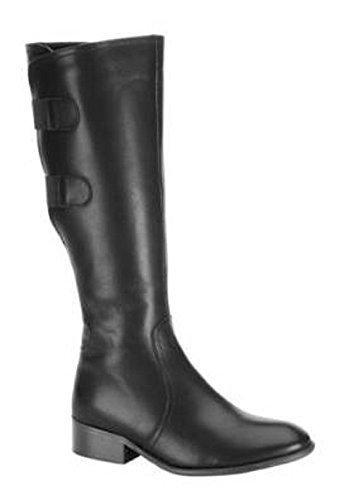 Chillany de gamme pour bottes en cuir noir Noir - Noir