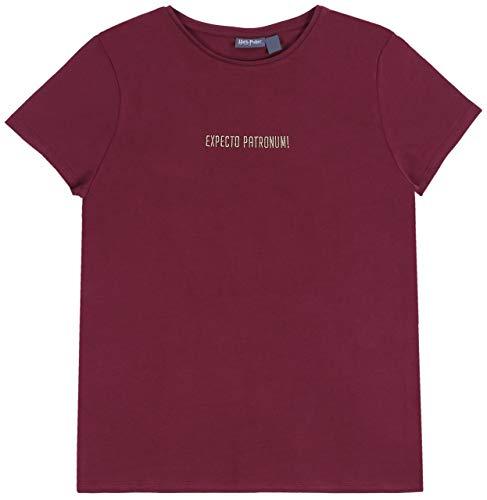 Kastanienbraunes T-Shirt, Harry Potter-T-Shirt S