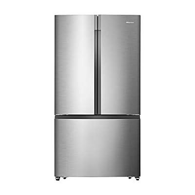 Hisense RF715N4AS1 French Door Style American Fridge Freezer - Stainless Steel