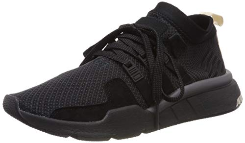 adidas Herren EQT Support Mid ADV Sneakers, Schwarz (Black/Carbon/Clear Brown), 42 2/3 EU