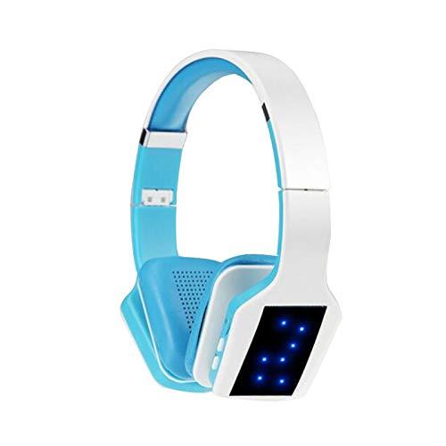 Aktive Rauschunterdrückung Bluetooth-Headset Over-Ear-Kopfhörer Kabelloses Headset, [Plug-TF-Kartenmodus, Bluetooth-Modus, Kabelgebundener Modus, FM-Radio-Wiedergabe] for Mobilgeräte / Android / Table Active Noise Reduction Plug