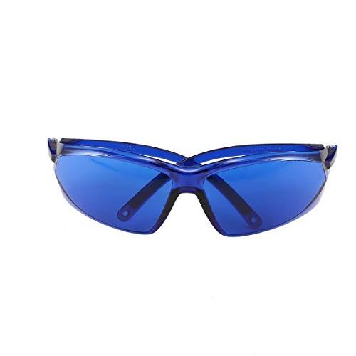 Funnyrunstore Opt/E Light/IPL/Photon Beauty Instrument Schutzbrille Farbe Laser Blau Brille Breite Absorption Schutzbrille (blau)