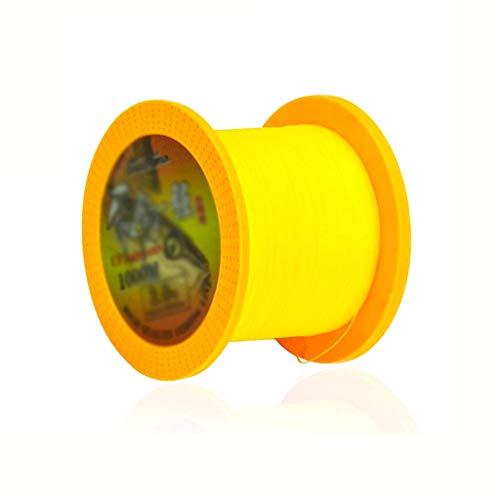 CAIM-Geflochtene Schnüre 500m Monofilament Angelschnur Hauptschnur Sea Angelschnur 1000m Sea Angelschnur Thread Angelrolle (Color : 500m, Größe : 2.5#)