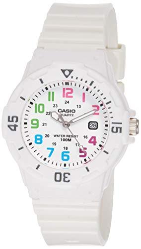 Casio Reloj Analógico para Mujer de japonés con Correa en Resina LRW200H7B