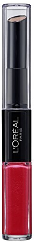 L'Oreal Paris Lippen Make-up Indefectible Lippenstift, 701 Captivated by Cerise /Liquid Lipstick...