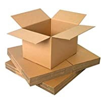 """20 x Strong Large Cardboard Boxes for Moving House Packing Removal Storage Double Wall (18"""" x 12"""" x 12"""")"""