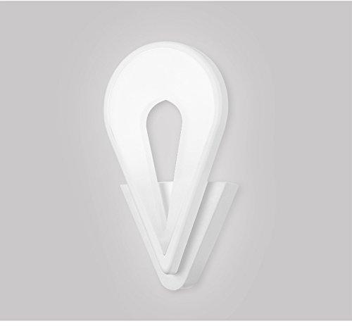 Teardrop Bar Tisch (Hai Ying ♪ / Kreative LED Persönlichkeit Schlafzimmer Lichter Mode Atmosphärische Teardrop Beleuchtung Moderne Einfache Studie Lichter Wohnzimmer Beleuchtung Nachttischlampe ♪)