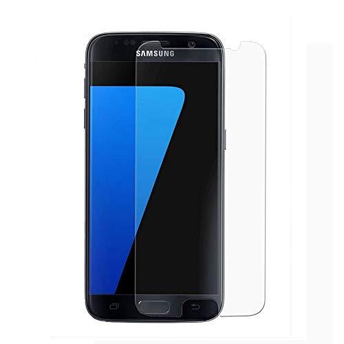 Lanmao Für Galaxy S7 Panzerglas Schutzfolie, [2 Stück][9H Härte][Anti-Kratzer][Gute Qualität][Einfaches Anbringen] Displayschutz Gehärtetem Glass Displayschutzfolie Folie für Samsung Galaxy S7
