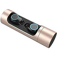 QLMY 100% Metal Um Das Rauschen Zu Eliminieren Kabellose Kopfhörer Wasserdicht Berühren Bluetooth 5.0 Stereo Inohrtyp Mit Eingebautem Mikrofon Headset Für Bewegung Laufen Übung