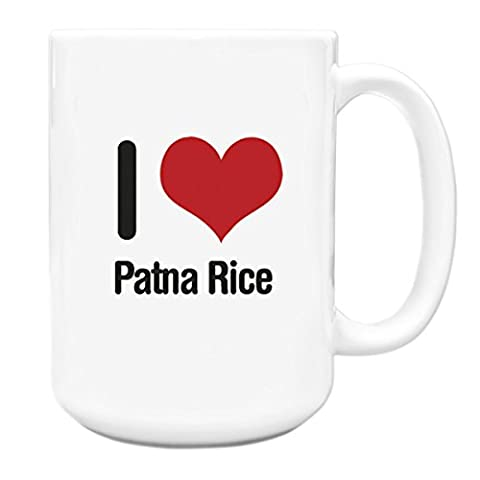 I love Patna Rice Big 15oz Mug 2461