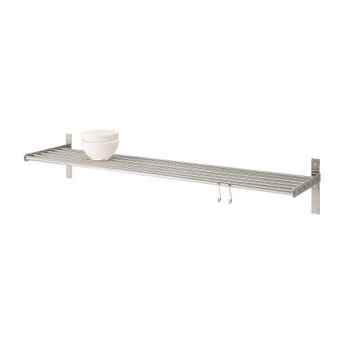 Ikea Grundtal Long Shelf Stainless Steel