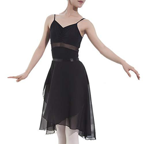 GOGO TEAM Adulto Sheer Wrap Falda Ballet Falda Ballet