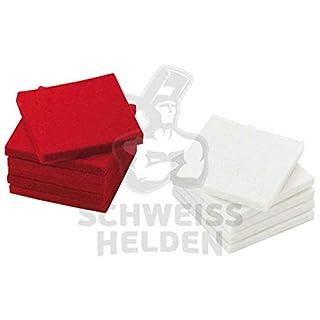 Abicor Binzel Reinigungsfilze rot für Stahl 193.0003 Kontaktschmierstoff für Drahtelektroden