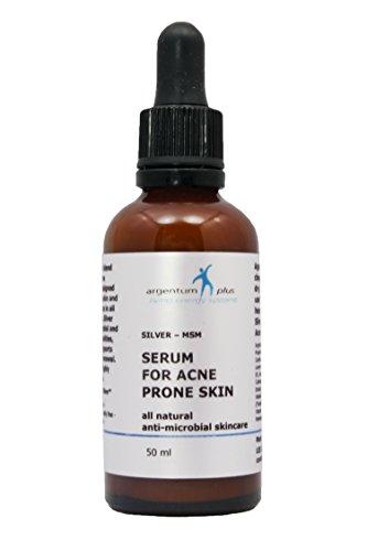 Sérum pour Acné Argent-MSM - Compte-Gouttes 50 ml