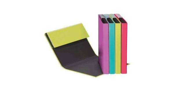 Pagna 12 x Heftbox A5 Pappe farbig sortiert