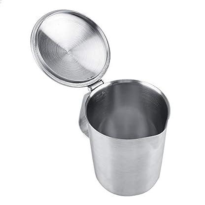 Edelstahl-Milch-Aufschumen-Pitcher-Kaffee-Pull-Flower-Cup-Becher-mit-Deckel-Messung
