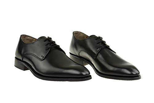 Gordon & Bros Herrenschuhe Mirco S500602 Klassischer Rahmengenähter Schnürhalbschuh mit Derbyschnürung für Anzug, Business und Freizeit Black