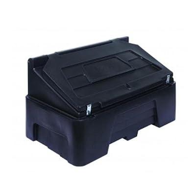 Aufbewahrungsbehälter für Streusalz, robust, 0,4m3, Schwarz