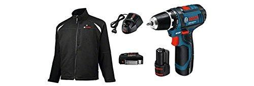 Preisvergleich Produktbild Bosch Arbeitsjacken und mäntel, Heat+Jacket 10,8V Basic-XL+GSR10,8-