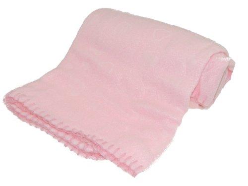 Glamour Girlz Bellissimo-Coperta in pile per passeggino, colore: rosa, Blu o Avorio...