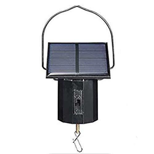 NANAD Solar-Spinner-Motor, solarbetriebener Wind-Spinner, 1,5 W, Flexibler Wind-Spinner, einfache Installation, solarbetrieben, Außendekoration, großer Motor - Wind-spinner-motoren