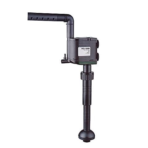 Multifunktionspumpe 1000L/h, 12W, H-max.: 1,2m, Strömungspumpe, Umwälzpumpe, Pumpe für Rieselfilter, externe UVC-Wasserklärer