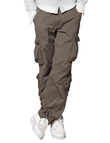 Match 3357 - Pantalones Cargo HombreCaqui Claro 3357