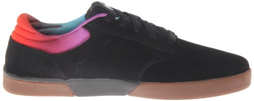 DVS Vapor, Chaussures de skateboard homme Noir (Black Poster Suede)