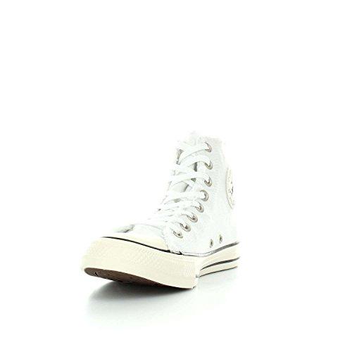 Converse Scarpe Unisex Sneakers Alte 161016C Ctas Hi Bianco