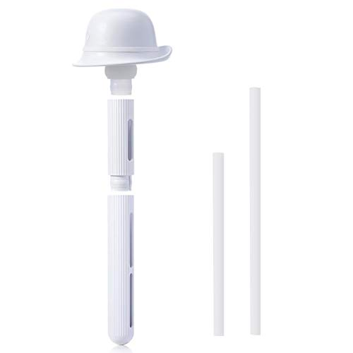 Ahomi 50ml/h Portable Removable USB Hat Humidifier w/LED Sponge Stick (White) -