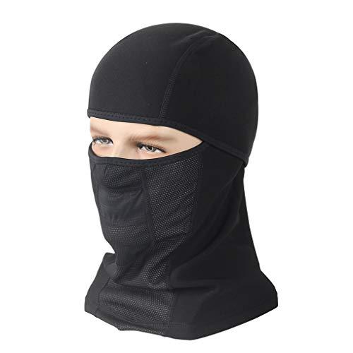 GUKOO Passamontagna Maschera da Sci Traspirante di Cotone Balaclava Antivento Maschera Invernale Caldo per Gli Sport All'aria Aperta Sci Pattinare Moto Bicicletta