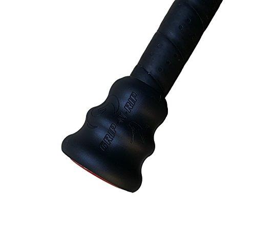 grip-n-rip Magnum Bat Grip, Schwarz (Magnum Grip)