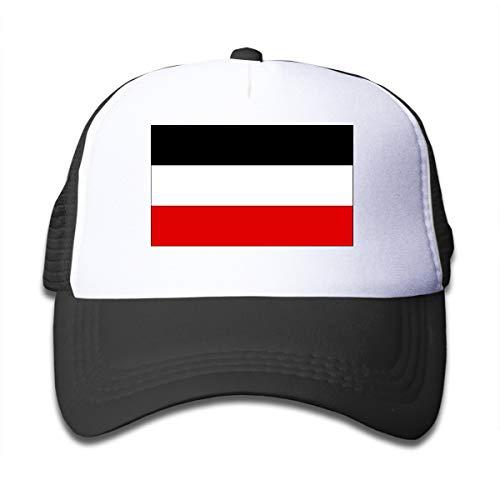 Dama Home Alte Flagge des Deutschen Reiches Kind Baby Kid Mesh Caps Einstellbare Trucker Hats Sommer Baseball Caps Arizona Boys Jean