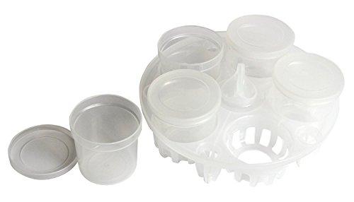 instant-pot-druck-sterilisiert-rack-und-joghurt-set-komplett-mit-5-joghurt-becher-wiederverwendbar