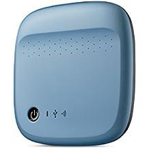 Seagate Archive HDD 500GB WiFi 500Go Bleu Disque Dur Externe - Disques durs externes (500 Go, 2.0, Alimenté par Port USB, Bleu)
