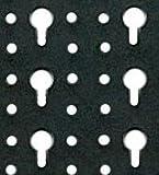 Werkzeug-Lochwand mit Schluesselloch-Lochung + Haken + Konsolen + Sichtboxen - 3