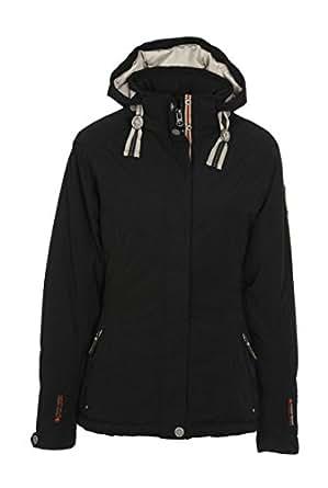 Giga dX de la marque killtec casual karsina veste fonctionnelle avec capuche amovible noir