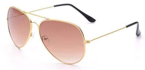 WSKPE Sonnenbrille Aviation Sonnenbrille Frauen Männer Gradient Objektiv Treibende Brillen Gold Frame Braune Linse