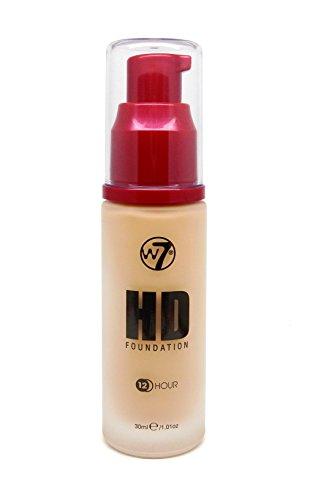 W7 High Definition 12 Hour Foundation 30ml-Fresh Beige