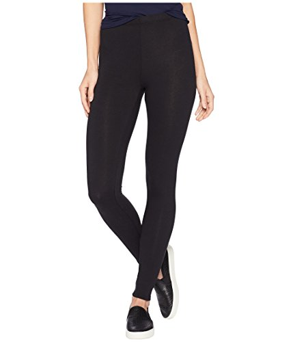 LAmade Damen Cotton-Spandex Jersey Leggings, schwarz, Mittel Cotton Spandex Jersey Legging